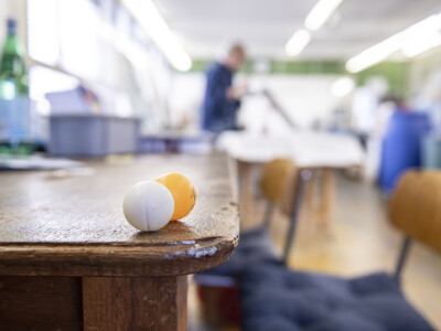 Pingpong-Event im Atelier-13 in Selzach